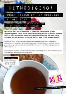 Uitnodiging Kunst kijken op het Hogeland